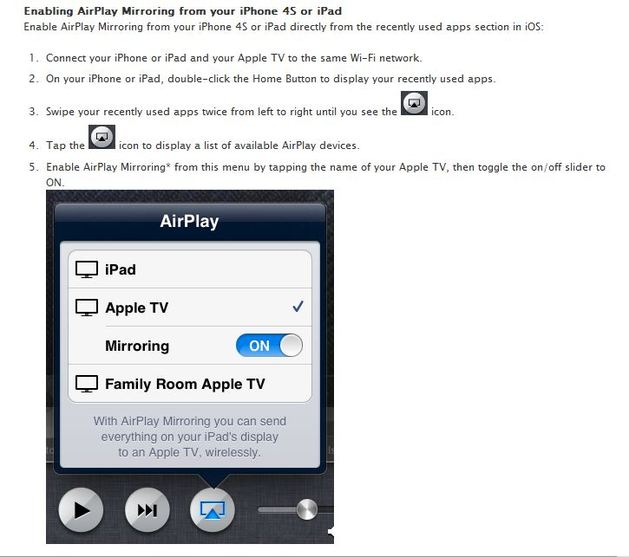 Apple TV and iPad - BMS Technology Resources